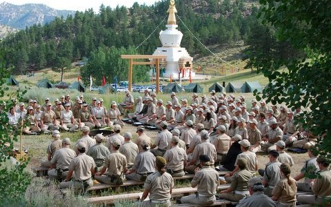 "Shambhala Mountain Center hosts ""The Courageous Women and Fearless Living Retreat"""