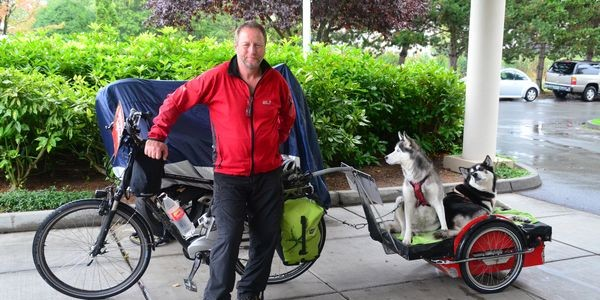 Meet the Man Who Rides for Cancer Awareness
