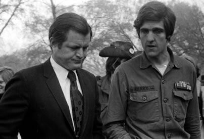 John Kerry with Ted Kennedy