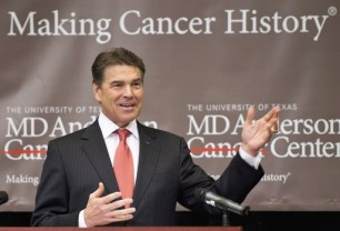 Rick-Perry-MD-Anderson-Cancer Center